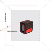 Лазерный уровень (нивелир) ADA CUBE MINI HOME EDITION А00465