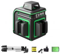 Лазерный уровень ADA CUBE 360 2V Green Professional Edition А00571